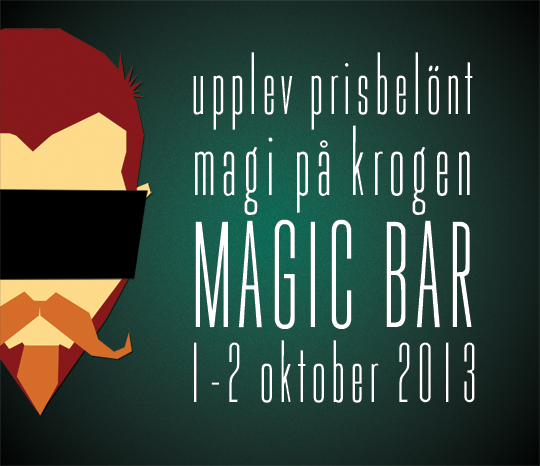 Magic Bar 1-2 oktober